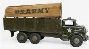 Marx Pressed Steel US Army Truck