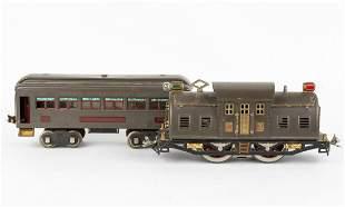 Lionel 10E Engine & 339 Pullman Car