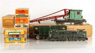 Lionel O and Standard Gauge Trains & Cars