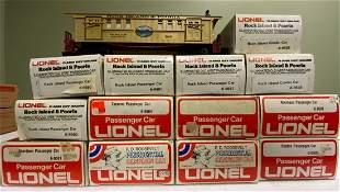 Lionel Boxed Train Cars