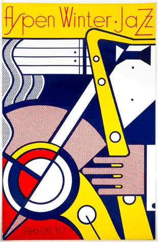 Roy Lichtenstein (American, 1923-1997) Aspen Winter