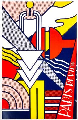 """Roy Lichtenstein (American, 1923-1997) """"Paris Review"""