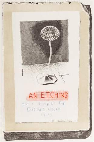 "David Hockney (British, b. 1937) ""An Etching and a"
