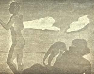 Eric Fischl (American, b. 1948) Lithograph