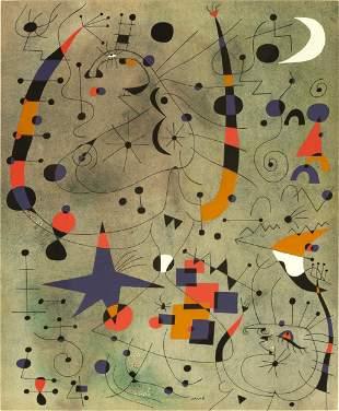 Joan Miro (1893 -1983) 'Acrobatic Dancers'