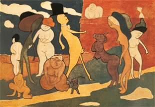 Man Ray (American, 1890-1976) Premier Promenade