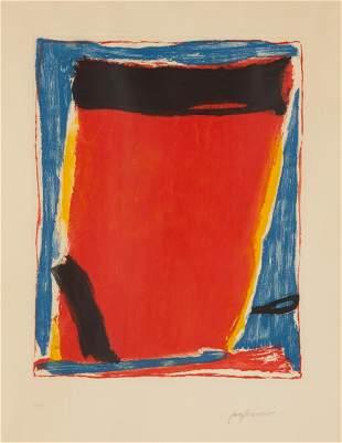 Jose Fumero (American, B. 1924) Lithograph