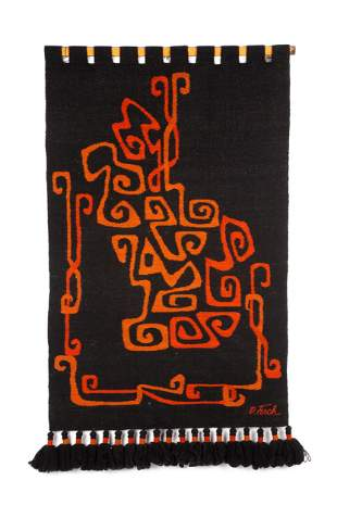 Olga Fisch Wall Hanging Tapestry