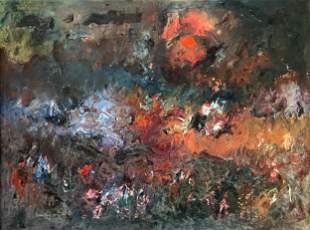 "Ralph M. Rosenborg (American, 1913-1992) ""Moonlight"""