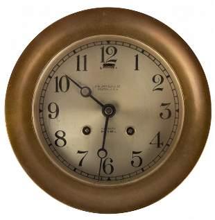 Chelsea Clock Co. Ships Clock