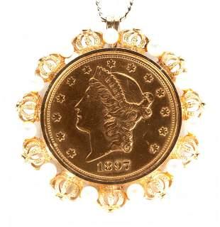 1897 $20 Liberty Gold Double Eagle
