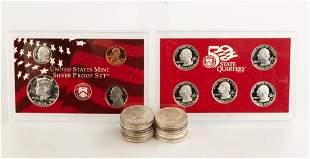 (19) Half Dollars & US Silver Proof Sets