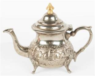 Moroccan Silver Tea Pot