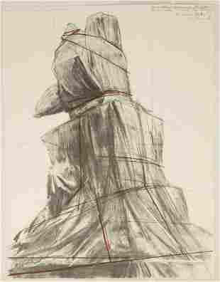Christo (Javacheff) & Jeanne-Claude (B. 1935) Wrapped M