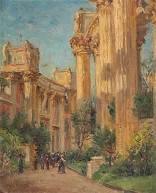 Emma Lampert Cooper ( American, 1855-1920) Palace of