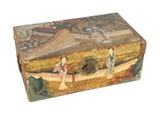 Chinese Hand Painted Document Box