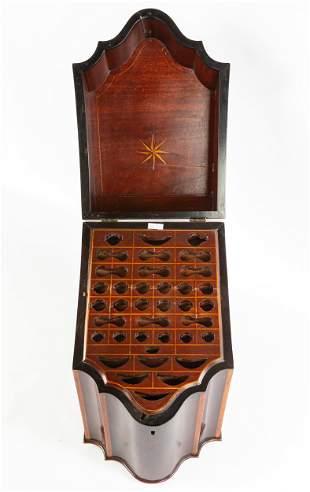 English Mahogany Hepplewhite Cutlery Box