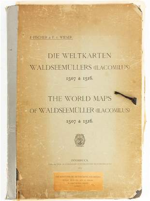 Waldseemüller's World Maps of 1507 and 1516