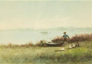 George Hamilton Brodhead (American, B. 1860) Landscape