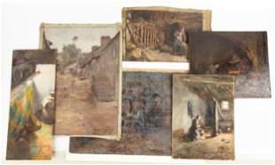 Large Group of Emma Lampert Cooper (American 1855-1920)