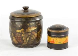 American Tureenware & Tin Pantry Box