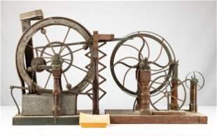 19th Century Perpetual Motion Machine Models