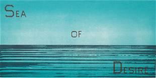 "Ed Ruscha (American, b. 1937) ""Sea of Desire"""