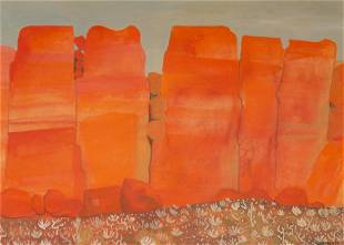 "Martha Visser't Hooft (1906-1994) ""Painted Canyon"""
