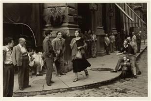 """Ruth Orkin (1921-1985) """"American Girl in Florence, Ital"""