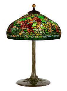 "Tiffany Studios, New York ""Nasturtium"" Table Lamp"