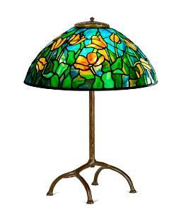 "Tiffany Studios, New York, ""Tulip"" Table Lamp"