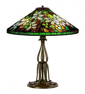 "Tiffany Studios, New York ""Clematis"" Table Lamp"