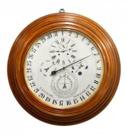 Rare D. J. Gale's Astronomical Calendar Gallery  Clock
