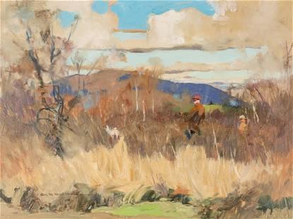 Roy Mason (American, 1886-1972) Hunting Scene