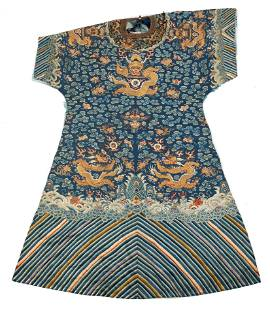 Remnant Chinese Embroidered Dragon Robe