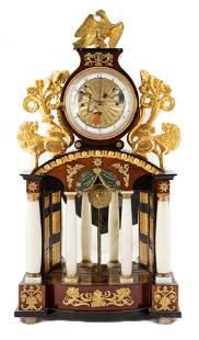 Fine Austrian Portico Clock