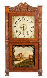 Hopkins and Alfred Shelf Clock