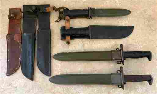 Group of Military Bayonets, etc.