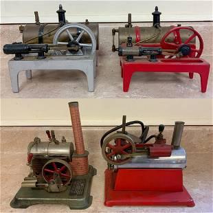 (2) Weeden Model Steam Engines and (2) Steam Engine