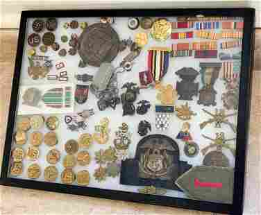 Military Pins, Buttons & Dog Tags