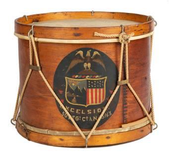 19th Century Civil War Style Drum