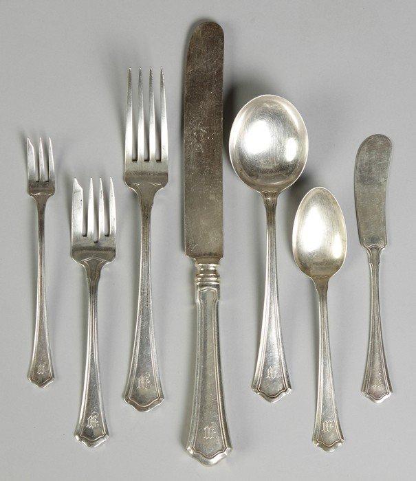 wallace sterling silver flatware washington pattern - Sterling Silver Flatware