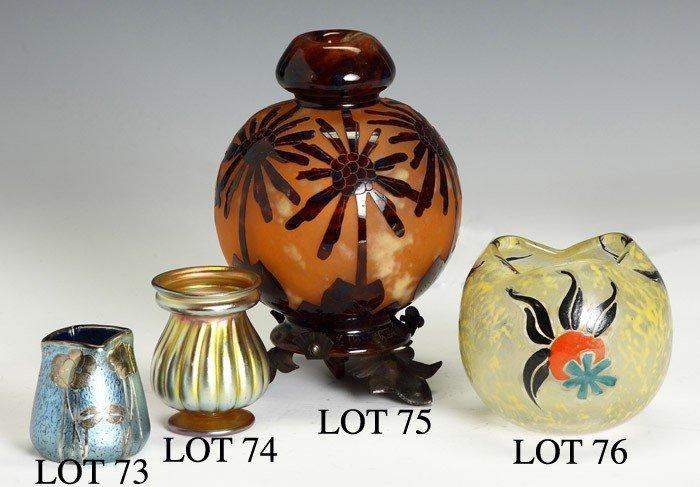 L.C. Tiffany Favrile Cabinet Vase