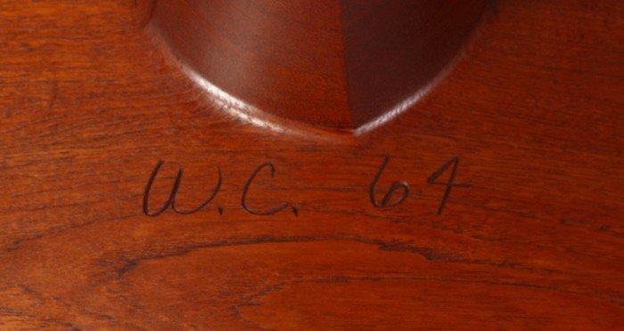 Wendell Castle (b. 1932) Walnut Side Table - 2