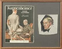 "Joseph C. Leyendecker (American, 1874-1951) ""Kuppenheim"