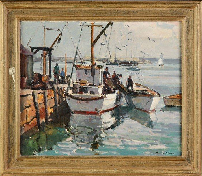 "Carl William Peters (American, 1897-1980) ""Morning Ligh"