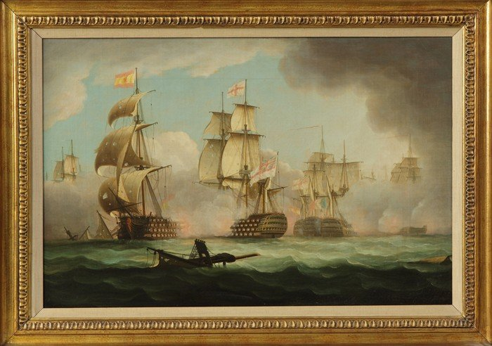 """A Pair of Thomas Buttersworth (British, 1768-1842) """"Eng - 2"""