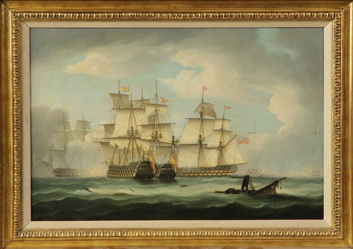 """A Pair of Thomas Buttersworth (British, 1768-1842) """"Eng - 3"""