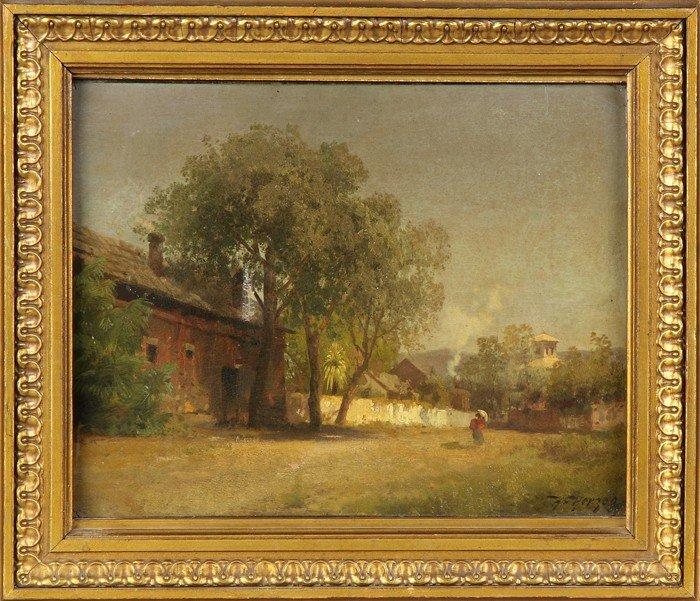 Hermann Herzog (American/German, 1831-1932) Southwester