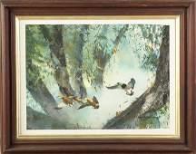 Roy Martell Mason American 18861972 Mallard Ducks